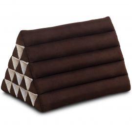 Triangle Cushion XXL-Height, monochrome, brown