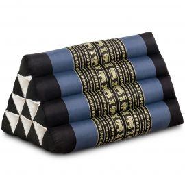 Triangle Cushion, blue elephants
