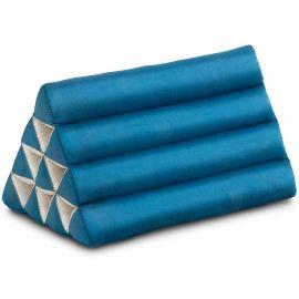 Triangle Cushion, monochrome, light blue