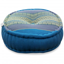 Zafu Pillow, light blue