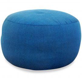 Small Zafu Pillow, monochrome, light blue