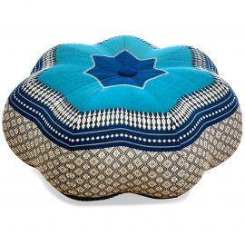 Zafu Cushion, great star, blue