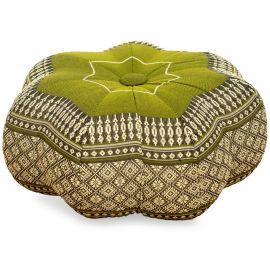 Zafu Cushion, little star, green