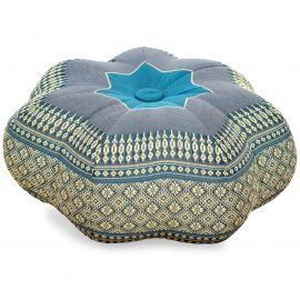 Zafu Cushion, little star, light blue
