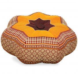 Zafu Cushion, little star, orange
