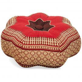 Zafu Cushion, little star, ruby-red