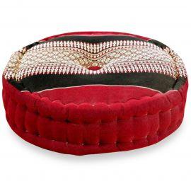 Zafu Pillow, red / black