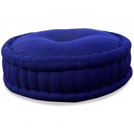 Zafu Pillow, monochrome, blue