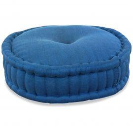 Zafu Pillow, monochrome, light blue