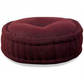 Zafu Pillow, monochrome, red