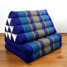 Thai Cushion 2 Fold, blue