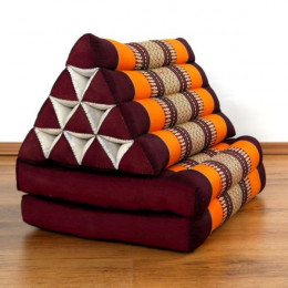 Thai Cushion 2 Fold, orange